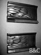 Haben die Wurfschaufeln Ihrer Strahlanlage Ähnlichkeit mit diesem Verschleißbild